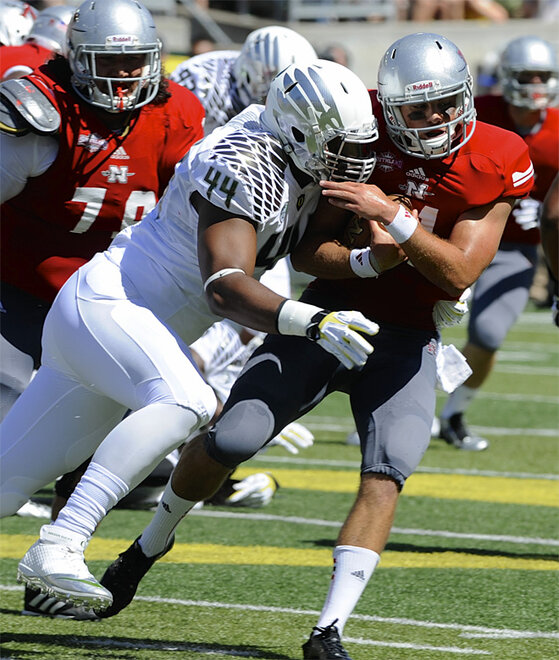 Nicholls St Oregon Football