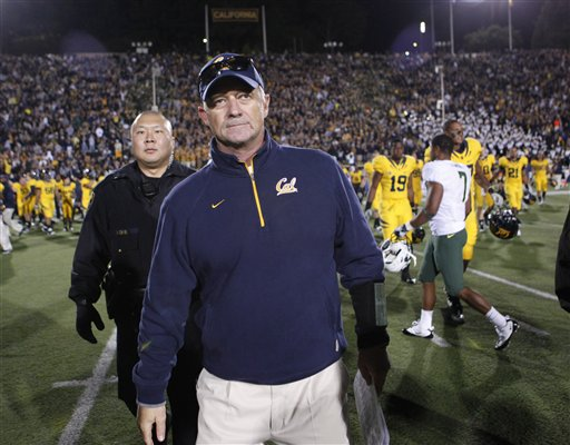 Cal faked it: Line coach suspended for 'injuries' vs. Oregon