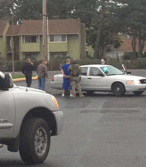 Suspect arrested for stabbing in early October - Photo sent in by Jose Carlos Gonzalez 3