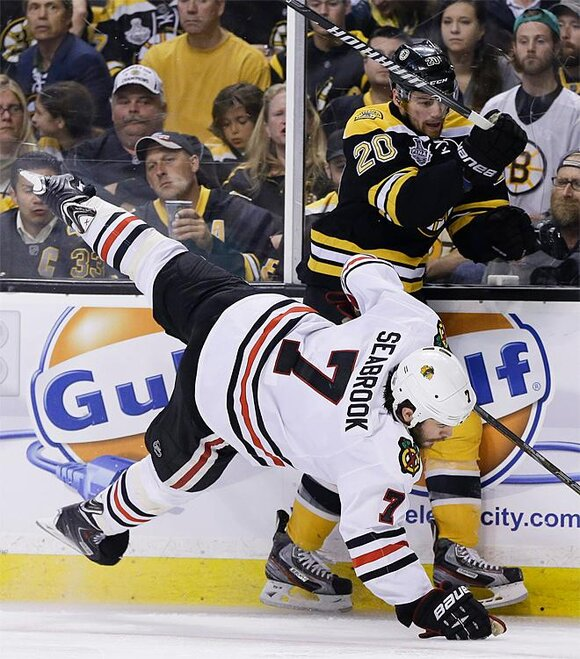 Stanley Cup Blackhawks Bruins Hockey