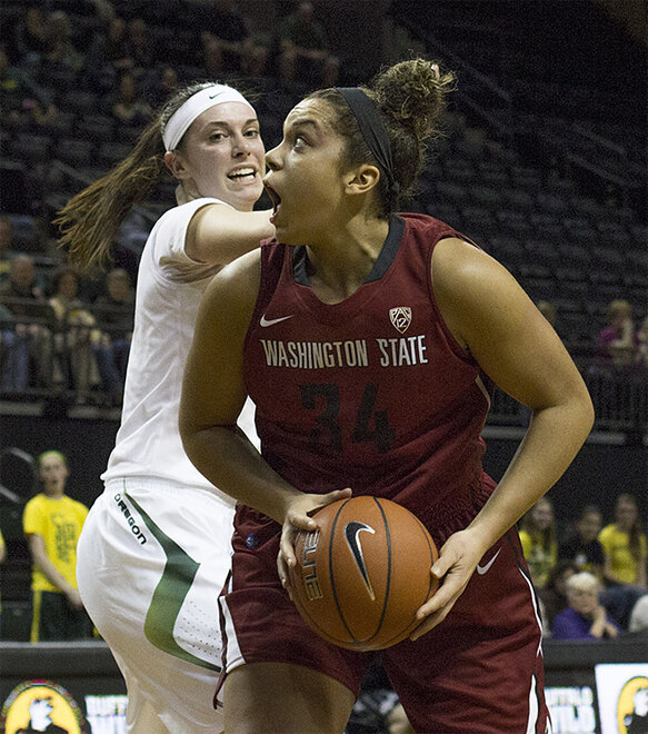 Oregon women take 82-66 victory over Washington State 16