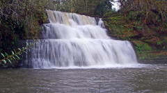 Camp Creek Falls in November