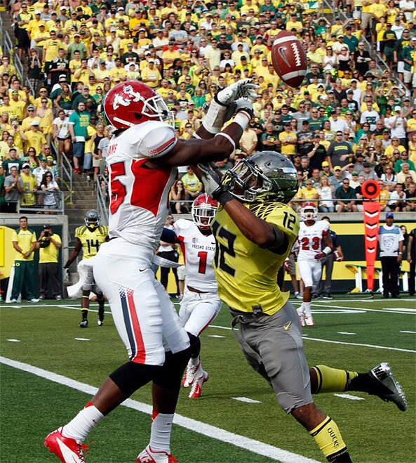 Fresno St Oregon Football