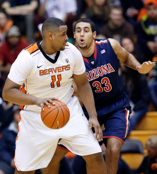 Arizona Oregon St Basketball