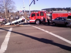 30th and hilyard car crash