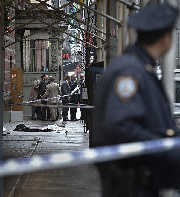 Manhattan Shooting
