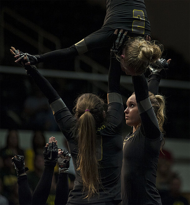Oregon Acrobatics and Tumbling wins 4th consecutive NCATA Title - 02 - Oregon News Lab Photo