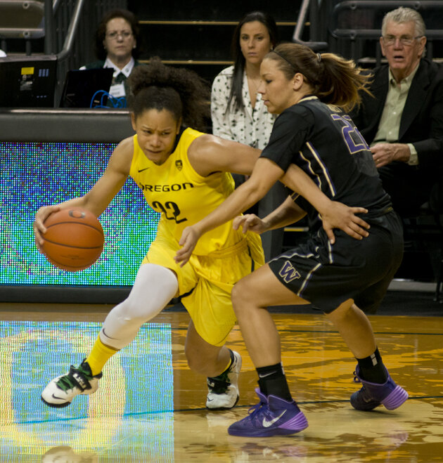 Ducks Host Huskies in WNIT 57