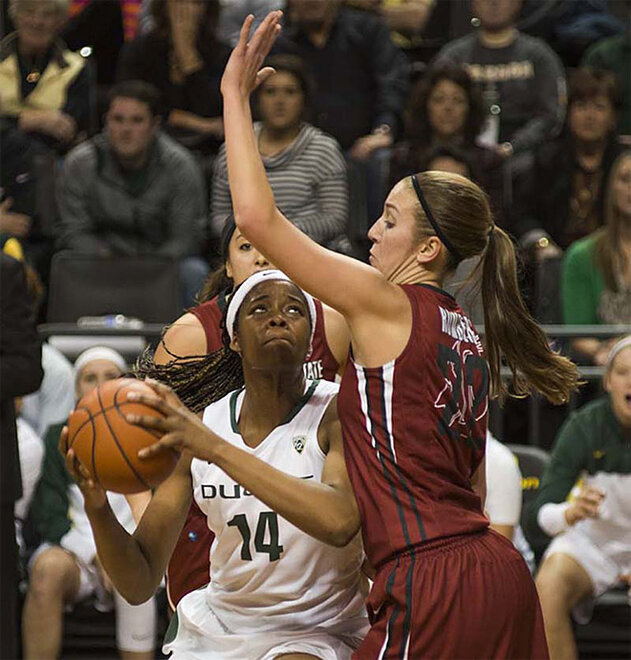Oregon women take 82-66 victory over Washington State 07