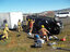 Pickup and trailer roll on I5 cats taken for safe keeping00