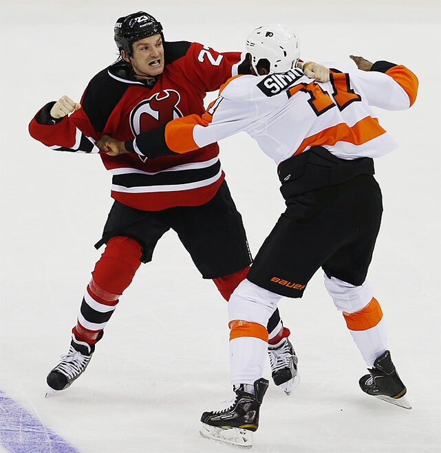 Flyers Devils Hockey