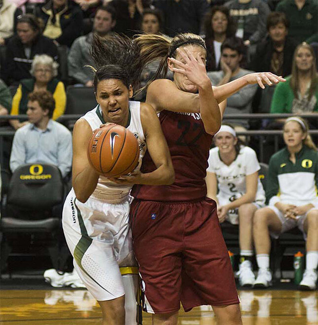 Oregon women take 82-66 victory over Washington State 05