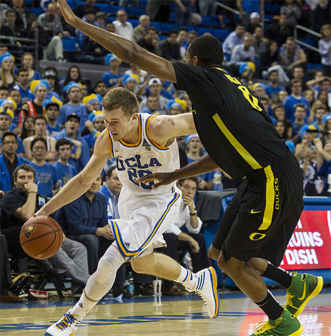 Oregon UCLA Basketball