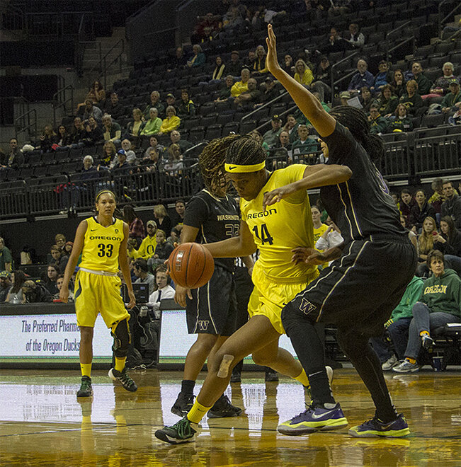 Ducks women beat Washington Huskies 101-85 _ 02
