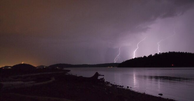 Puget Sound lightning