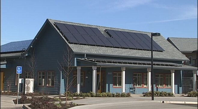 Eugene solar project