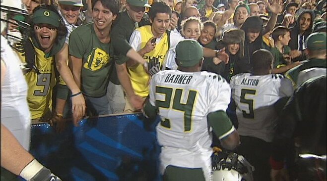 Oregon's 2010 victory is lone win in Berkeley since 2001