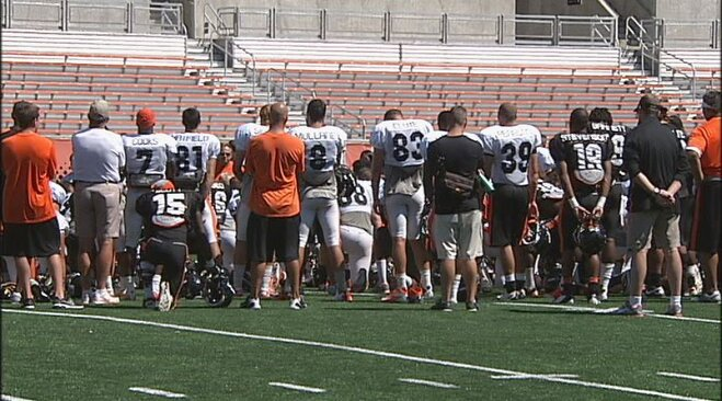 Beavs end 'smooth' training camp