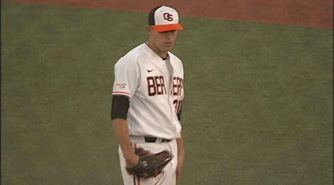 Boyd fans 12 Bears, No. 6 Beavs win 6th straight