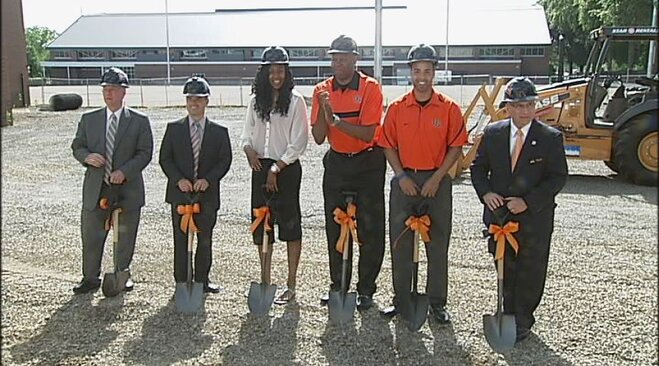 Beavers break ground on new basketball facility