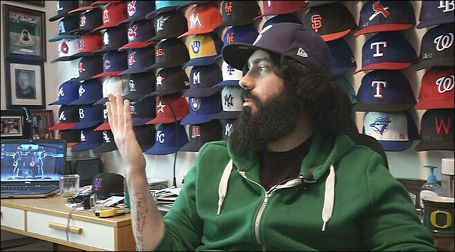 Benjamin Christiensen wants to live in the MLB Fan Cave