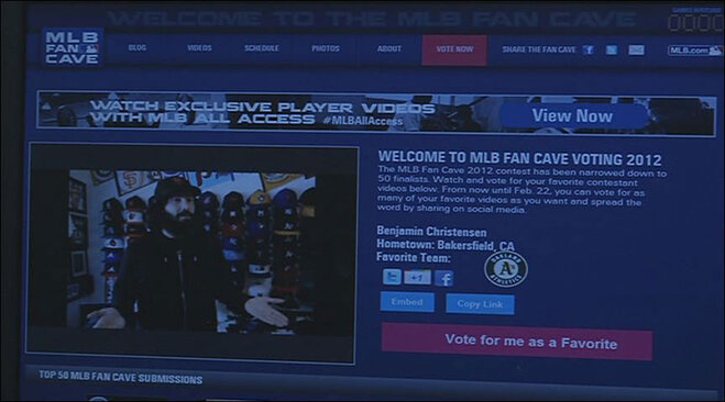 Benjamin Christiensen wants to live in the MLB Fan Cave (6)
