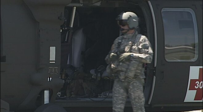 Blackhawk helicopter crew visits youth camp in Eugene (7)