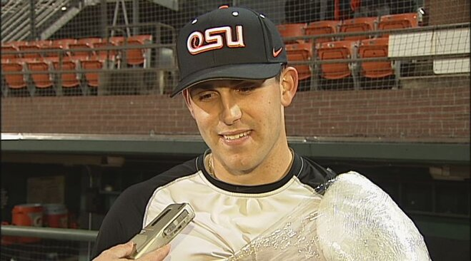 Video: Casey and Boyd talk after winning Game 1 vs. ASU