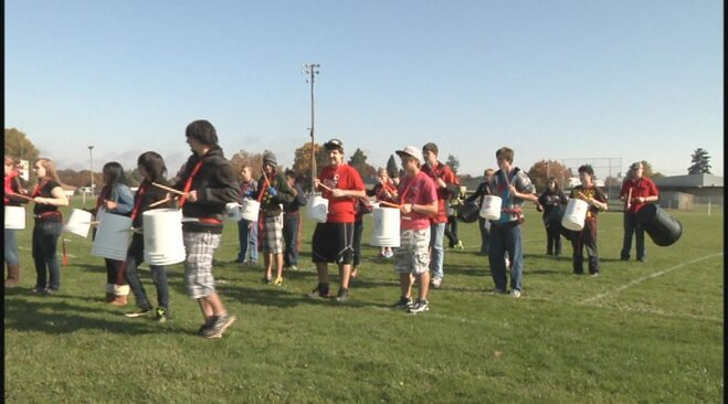 Bucket Project at Junction City High School (2)