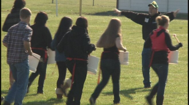 Bucket Project at Junction City High School (5)