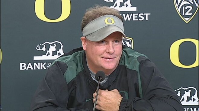 Video: Chip Kelly weekly presser on Stanford