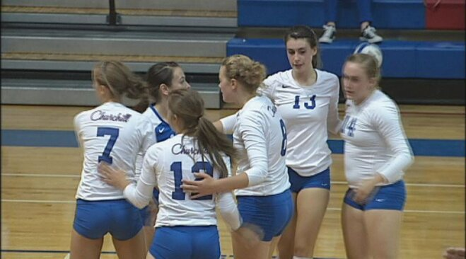 Lancer spikers beat South Eugene to remain unbeaten