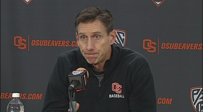 Oregon State baseball Media Day