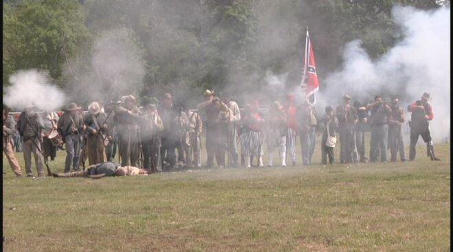 Civil War re-enactment in Lebanon May 19 (17)
