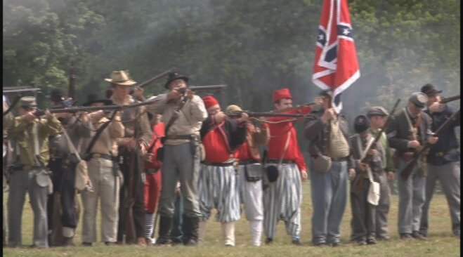 Civil War re-enactment in Lebanon May 19 (18)