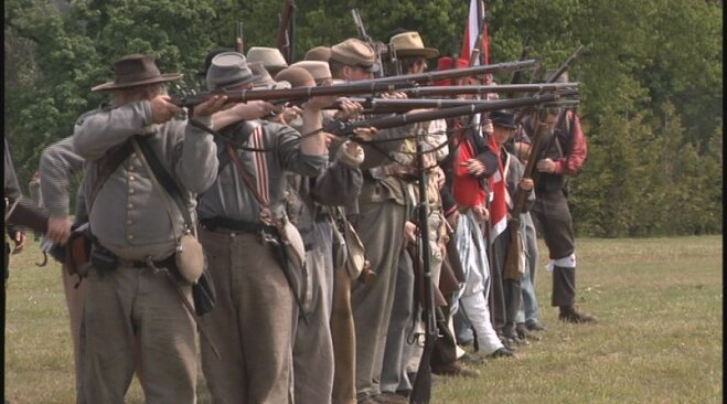 Civil War re-enactment in Lebanon May 19 (23)