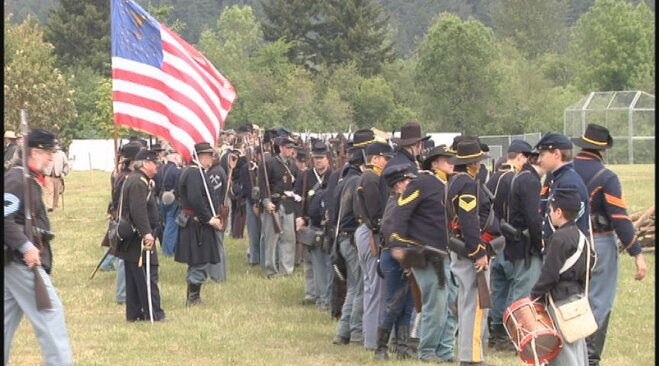 Civil War re-enactment in Lebanon May 19 (30)