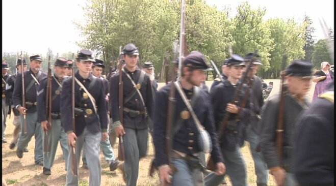 Civil War re-enactment in Lebanon May 19 (31)
