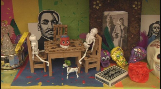 Day of the Dead at River Road school (4)