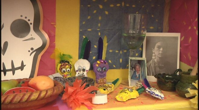 Day of the Dead at River Road school (5)