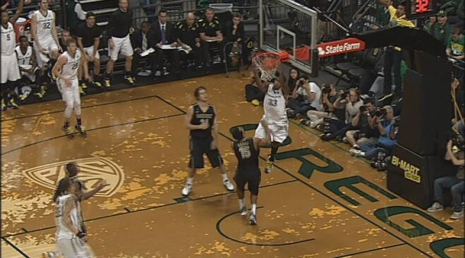 Did you see Carlos Emory's reverse alley oop on Vandy?