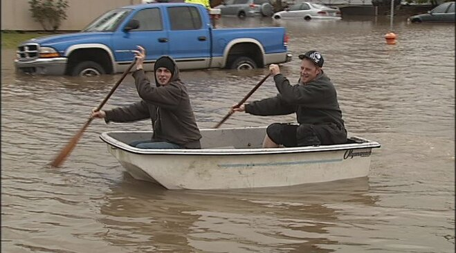 Flooding in Corvallis on January 19 (2)