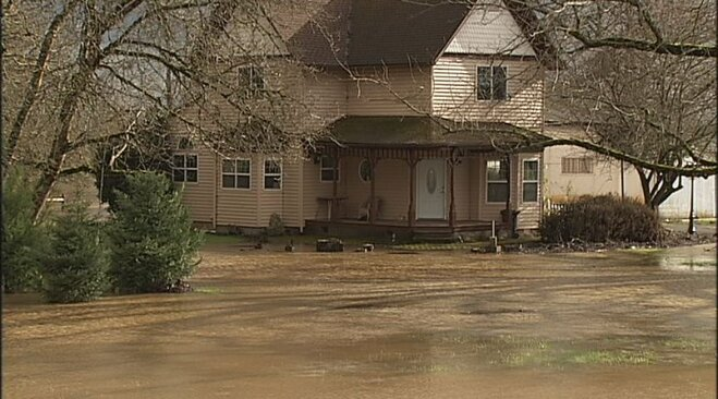 Flooding in Corvallis on January 19 (3)