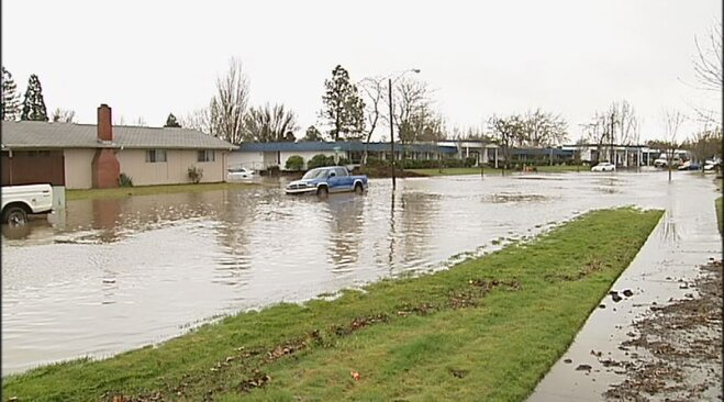 Flooding in Corvallis on January 19 (5)