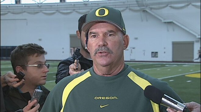 Raw Video: Oregon baseball media day