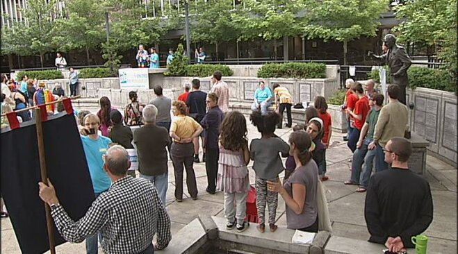Gathering celebrates court ruling that supports marriage equality (3)