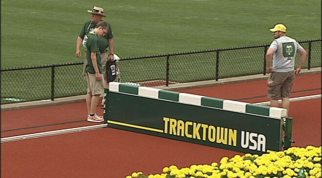 Hayward Field prepares for 2012 Olympic trials