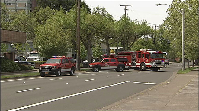 Hazmat response in downtown Eugene on May 18 (1)