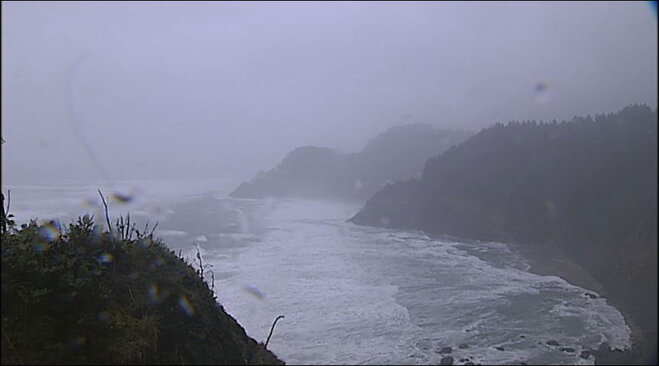 Heceta Head Lighthouse on January 18