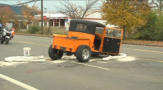 Hot rod crash on Main Street November 4